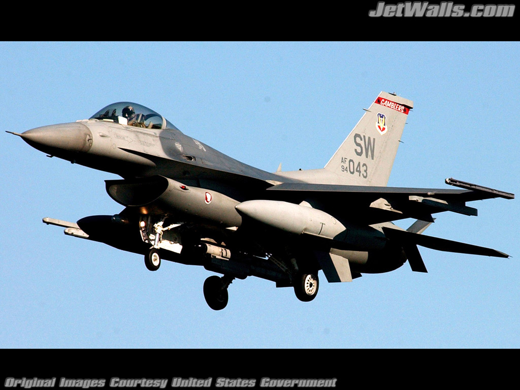 """F-16 Fighting Falcon"" - Wallpaper No. 101 of 101. Right click for saving options."