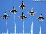 """U.S. Air Force Thunderbirds"" - Wallpaper No.66.  Click for 640x480 or select another size."