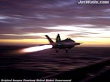 """F/A-18F Super Hornet"" - Wallpaper No.83.  Click for 640x480 or select another size."