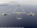 """F/A-18C Hornets"" - Wallpaper No.92.  Click for 640x480 or select another size."