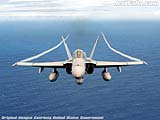 """F/A-18 Hornet"" - Wallpaper No.13.  Click for 640x480 or select another size."