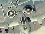 """Two A-10 Thunderbolt IIs"" - Wallpaper No.11.  Click for 640x480 or select another size."
