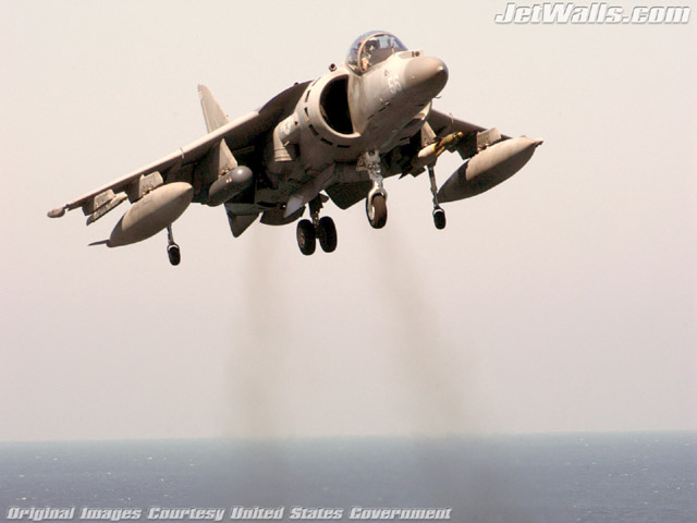 """AV-8B Harrier"" - Wallpaper No. 79 of 101. Right click for saving options."