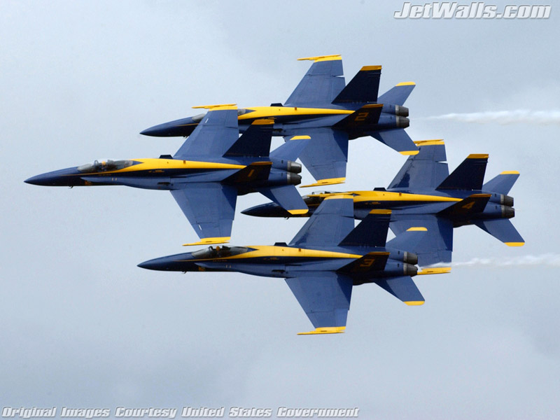 blue angels wallpaper. quot;Blue Angelsquot; - Wallpaper No.